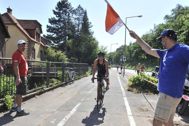 Triathlon in Neustadt-Mußbach (Foto: PIX-Sportfotos)
