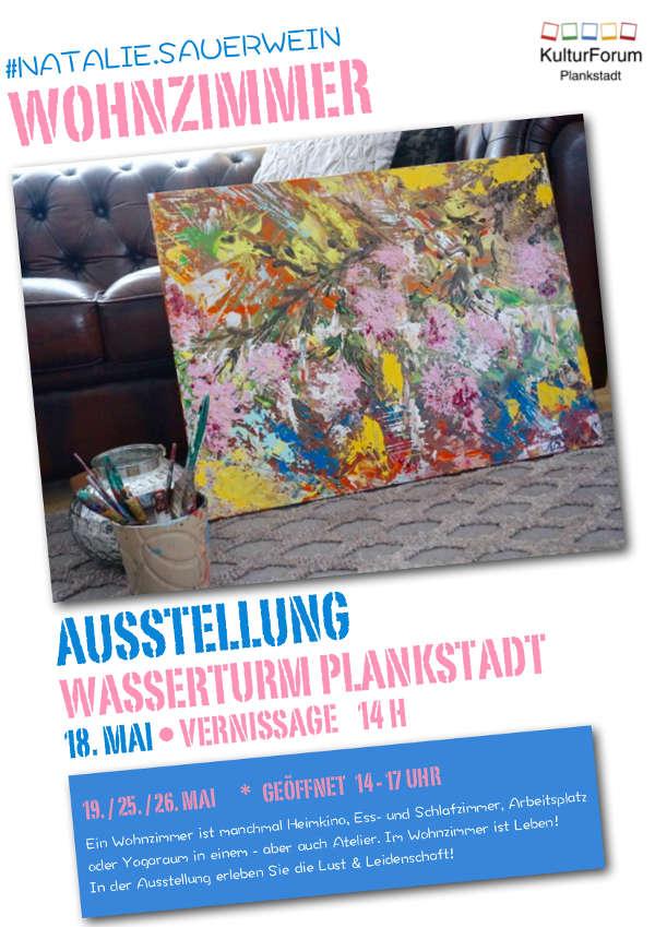 Ausstellung von Natalie Sauerwein im Wasserturm Plankstadt