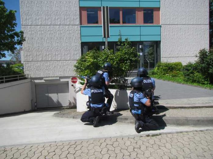 Polizeiinspektion Bad Kreuznach bewältigt Übungslage