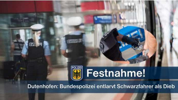 Festnahme © Bundespolizei
