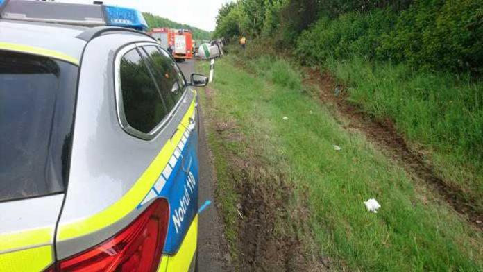 Unfall mit Todesfolge - Vollsperrung Autobahn 45 in der Wetterau