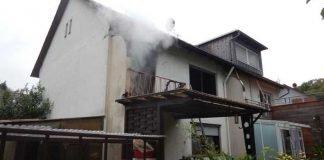 Wohnungsbrand in Schwanheim © Feuerwehr Frankfurt am Main