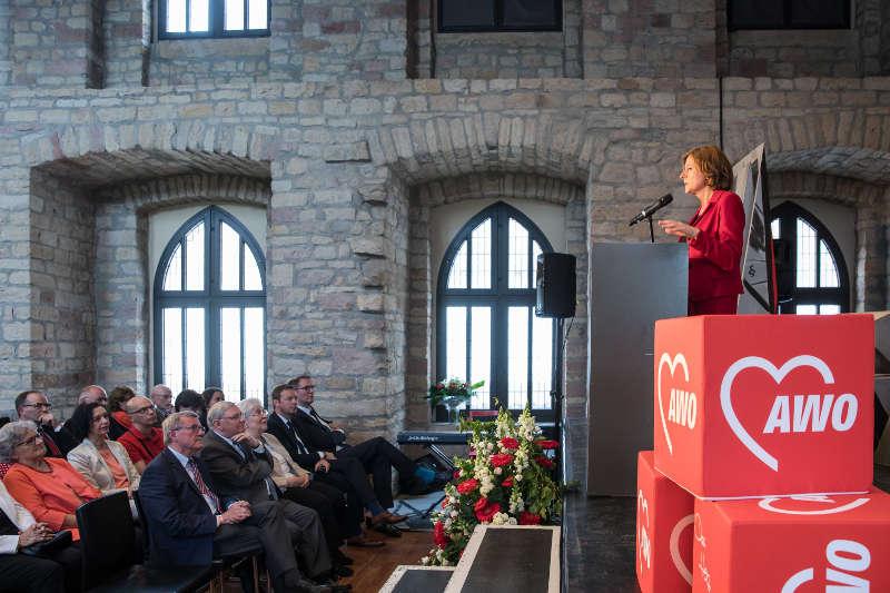 Ministerpräsidentin Malu Dreyer (Foto: AWO Pfalz/ Jens Braune del Angel mug)