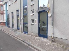 Schaden in der Gabelsbergerstraße (Foto: Polizei RLP)