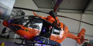 Neuer Hubschrauber vom Typ H135 (Foto: Taheri/BRK)
