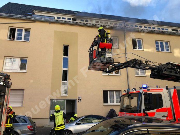 Blick auf das Gebäude © Feuerwehr Frankfurt am Main