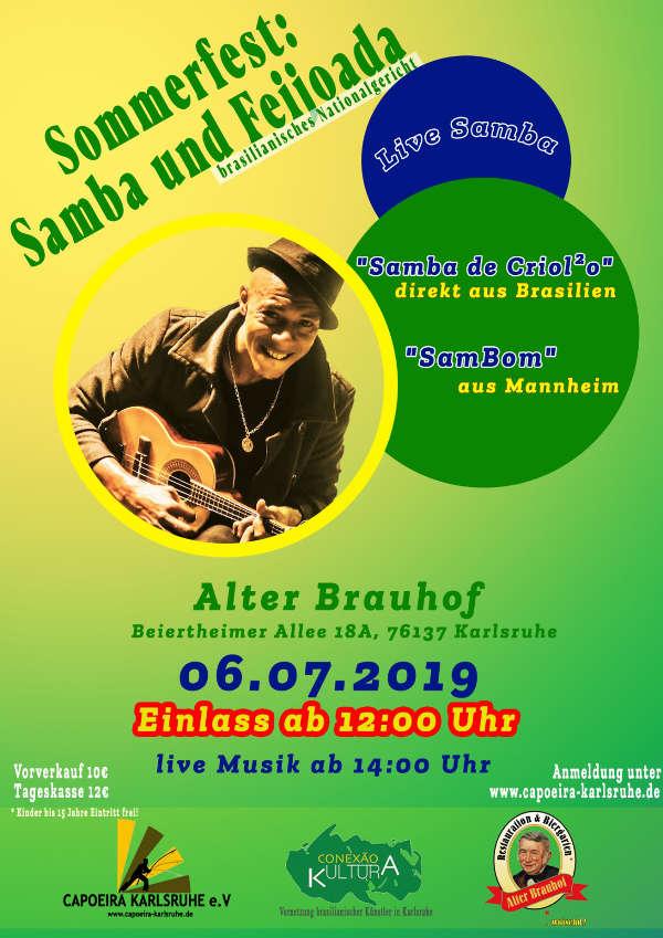 Capoeira-Sommerfest 2019 (Foto: Capoeira Karlsruhe e.V.)