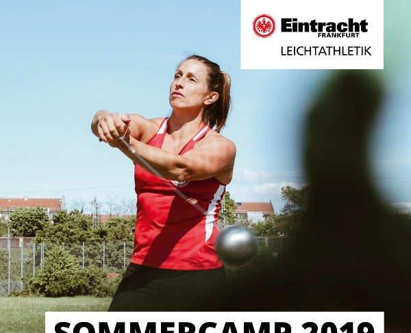 Leichtathletik Sommercamp 2019 (Quelle: Eintracht Frankfurt e.V.)