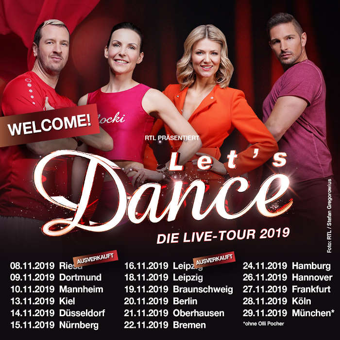 lets dance 2019 tour