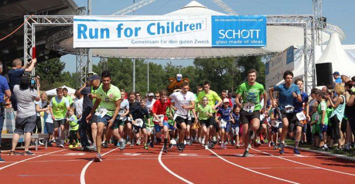 Der Run for Children findet 2019 bereits zum 14. Mal statt. (Foto: SCHOTT / Alexander Sell)