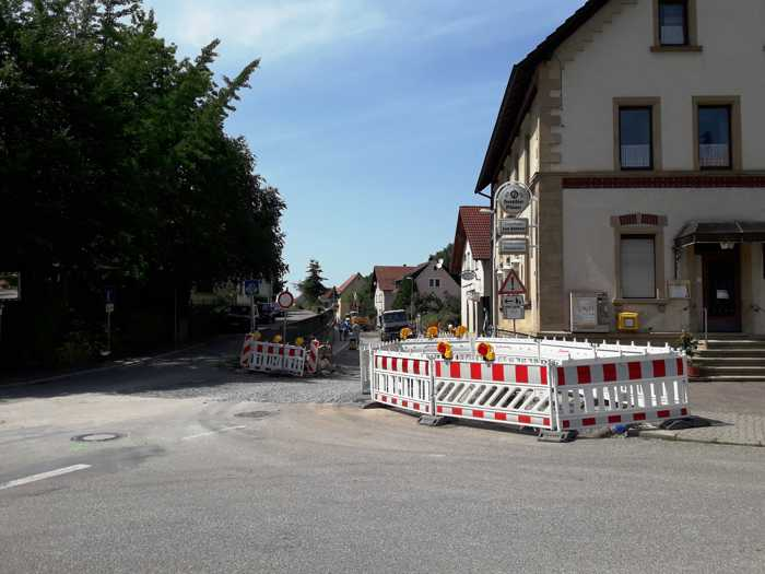 (Stadt Sinsheim): Blick in die Michelfelder Straße