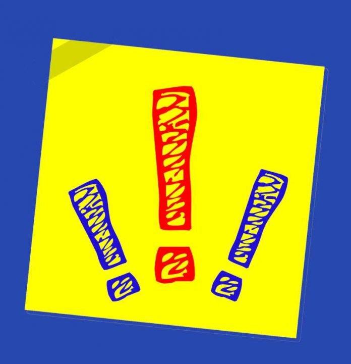 Symbolbild, Achtung, Wichtig © on pixabay