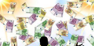 Symbolbild, Geld, Geldregen, Gewinn, Lotto © Gerd Altmann on Pixabay