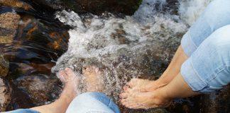 Symbolbild, Wetter, Sommer, Hitze, Abkühlen, Wasser, Füße © (pxhere)