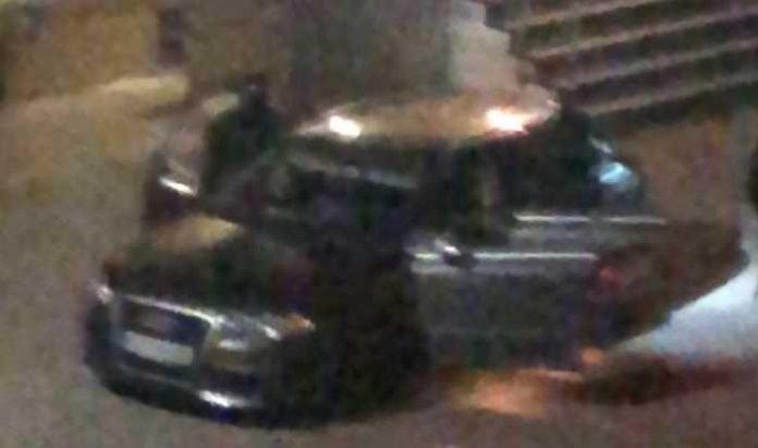 Wer erkennt diesen Pkw? Fahrzeug der Täter bei Geldautomatensprengung in Baunatal-Hertingshausen