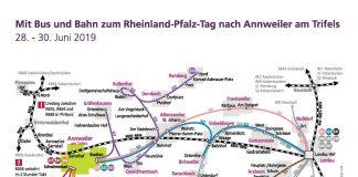 Bus- und Bahnverbindung Rheinland-Pfalz-Tag 2019