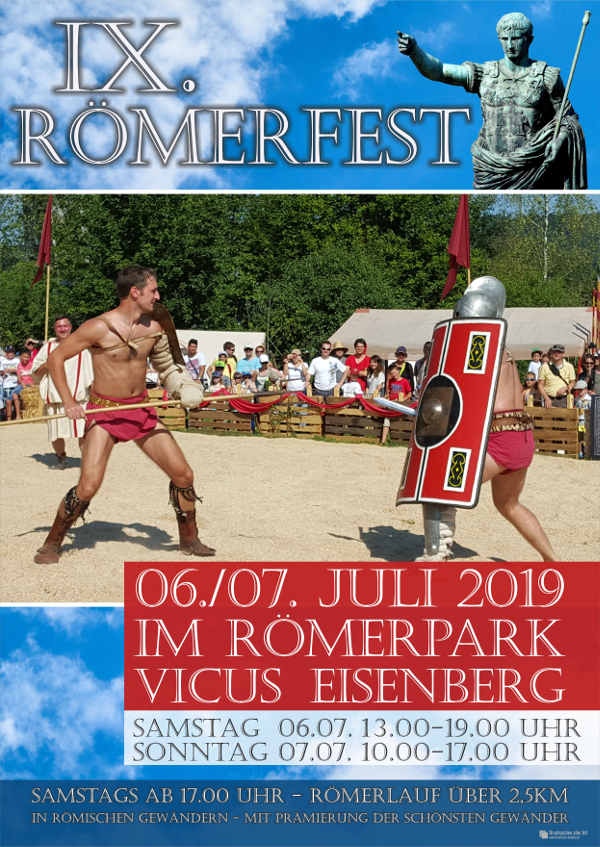 Römerfest in Eisenberg (Foto: VG Eisenberg)