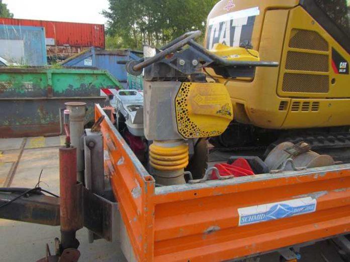 Bingen-Büdesheim: Baumaschine gestohlen