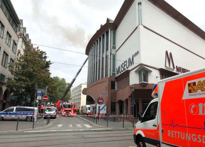 Brand im MMK (Foto: Stadt Frankfurt/Tanja Schaefer)