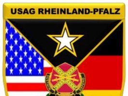Wappen U.S. Army Garrison Rheinland-Pfalz