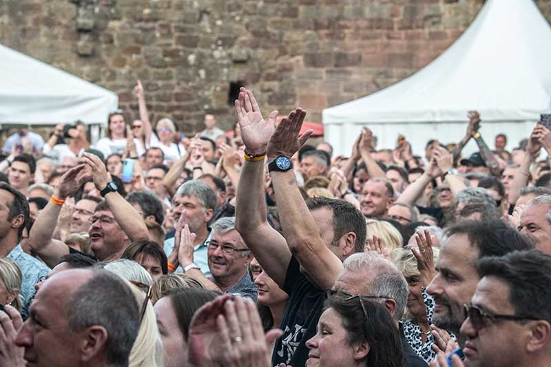 Neuleiningen Burgsommer 2019 Queen Kings (Foto: Helmut Dell)