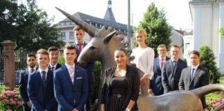 Der neue Ausbildungsjahrgang der Vereinigten VR Bank Kur- und Rheinpfalz