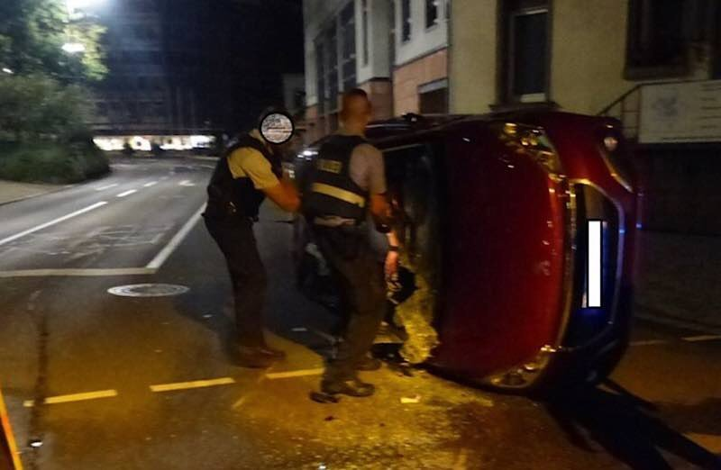 Drei Menschen wurden verletzt (Foto: Polizei RLP)