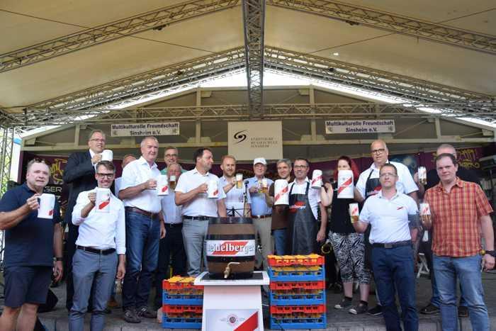 Eröffung Stadtfest 2018 - Quelle: Stadtmarketing Sinsheim