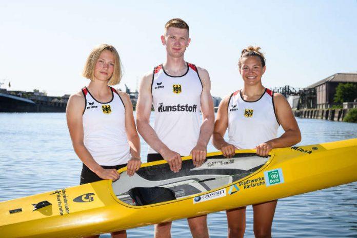 Gesine Ragwitz, Jan Bechtold und Greta Köszeghy (Foto: GES/Rheinbrüder)