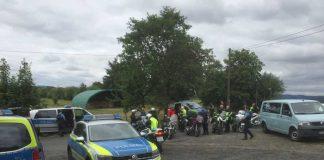 Kontrollen zur Sensibilisierung von Motorradfahrern - Steinau an der Straße