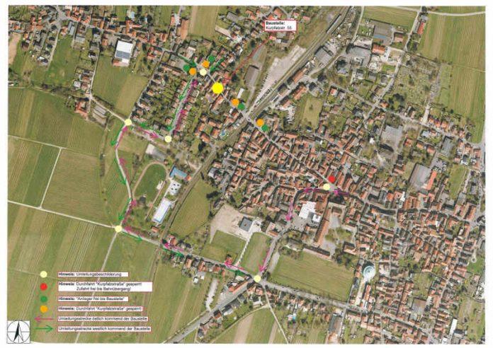 Kurpfalzstr. 55 Lageplan (Quelle: Stadtverwaltung Neustadt)