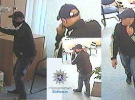 Täterfotos aus der Überwachungskamera
