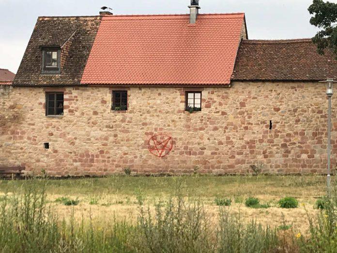 Wachenheimer Stadtmauer (Foto: Polizei RLP)