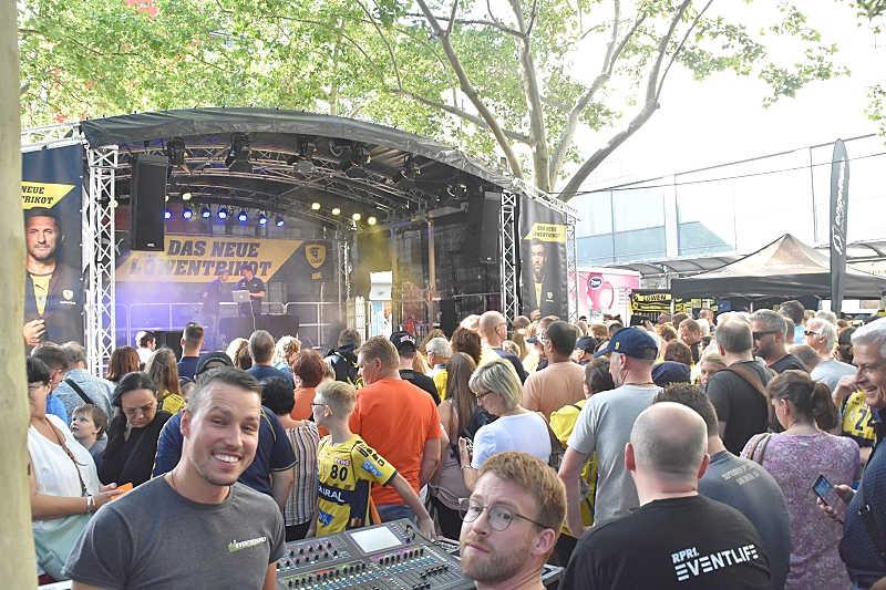 Rhein-Neckar Löwen Trikotpräsentation 2019 (Foto: LT)