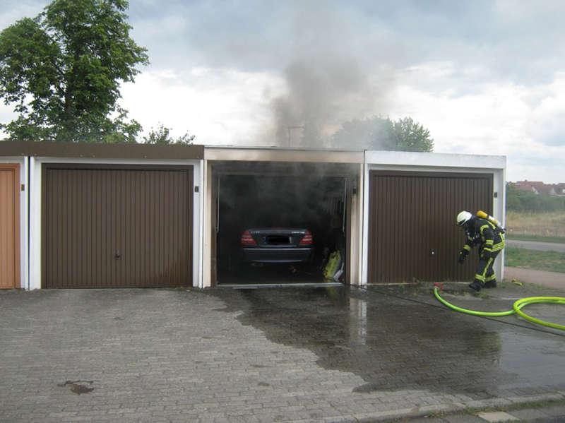 Die Feuerwehr konnte Schlimmeres verhindern (Foto: Polizei RLP)