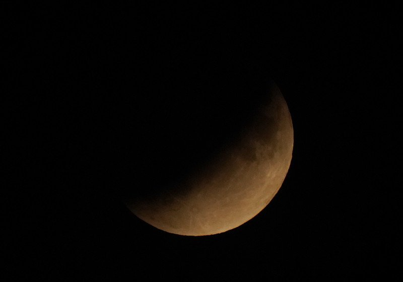 Mond Partielle Mondfinsternis
