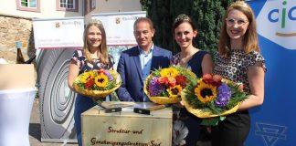 v.l.: Anna Göhring, Hannes Kopf, Inga Storck, Meike Klohr (Foto: SGD Süd)