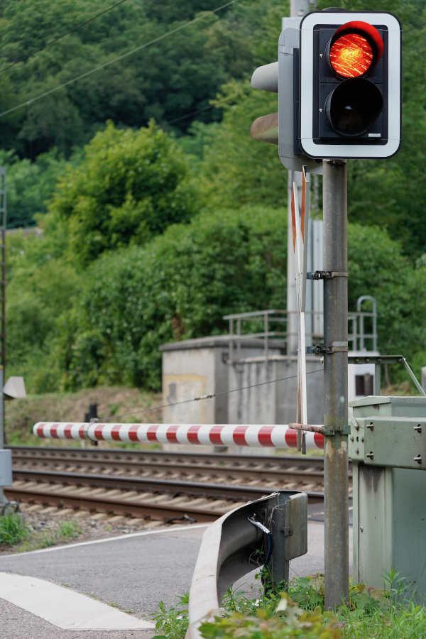 Bahnübergang im Nonnental (Foto: Holger Knecht)