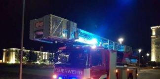 Drehleiterfahrzeug (Foto: Feuerwehr Neustadt)