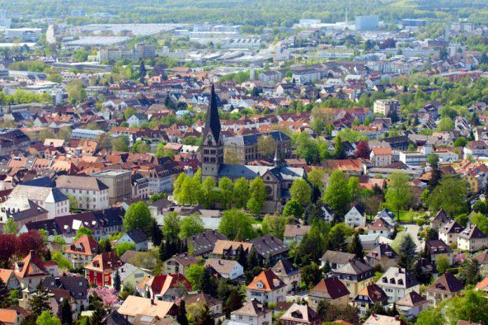 Ettlingen - Blick vom Bismarckturm (Foto: Holger Knecht)