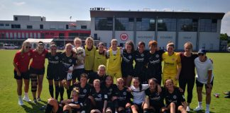 Fußballerinnen von Eintracht Frankfurt (Foto: Eintracht Frankfurt)