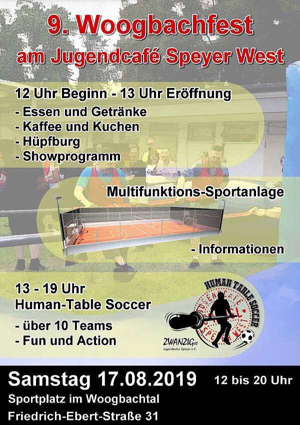 Plakat 9. Woogbachfest
