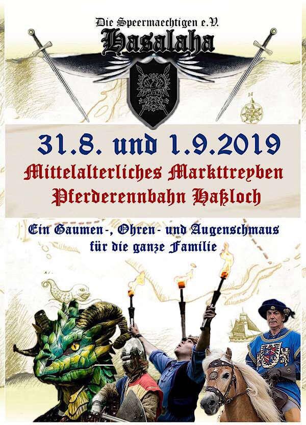 Plakat Mittelaltermarkt