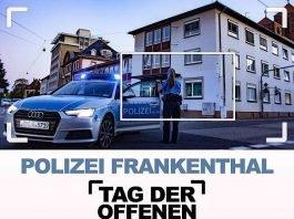 Tag der offenen Tür der Polizeiinspektion Frankenthal (Quelle: Polizei RLP)