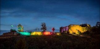 Illuminierte Wolfsburg (Foto: Klaus Ruschmaritsch)
