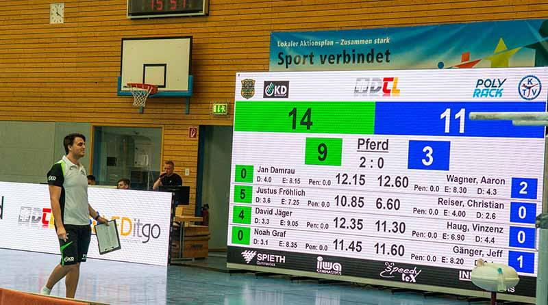 Grünstadt TSG Bundesliga (Foto: Helmut Dell)