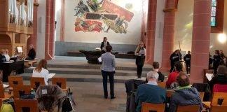 ZDF-Gottesdienst Probe im März