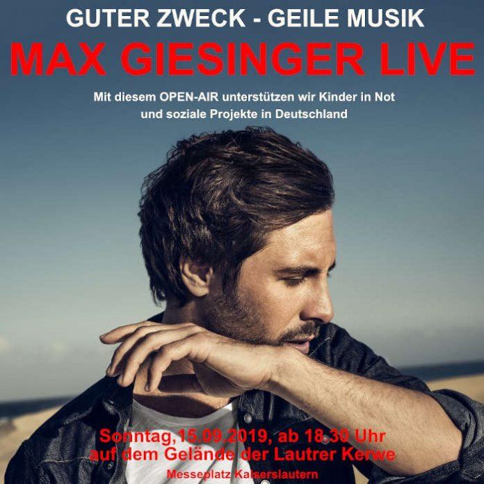 Max Giesinger (Foto: Christoph Köstlin)