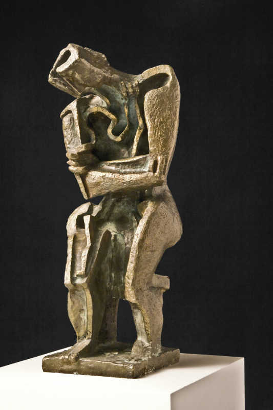 Ossip-Zadkine_Tendresse-Maternelle_1967-Bronze