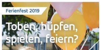 Plakat Ferienfest 2019 (Quelle: Stadtwerke Karlsruhe GmbH)